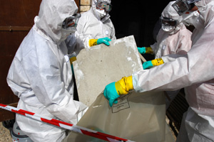 Asbestos removal contractor in CT